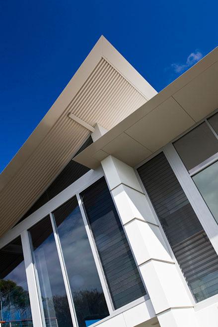 pyang house utilises the arcpanel custom roof panel