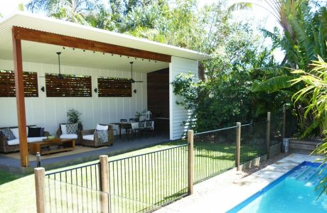 Noosa River Covered Outdoor Entertaining Area