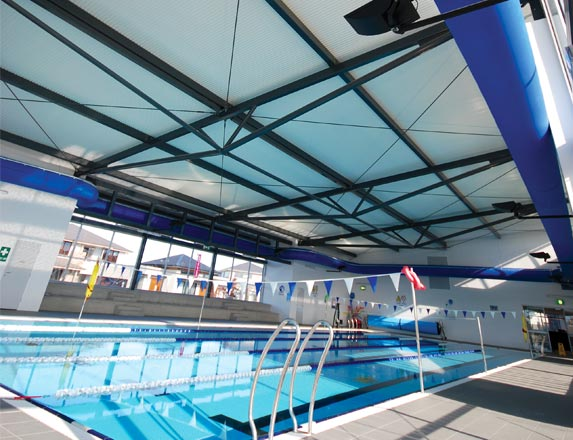 Commercial Roof for Swimming Pool